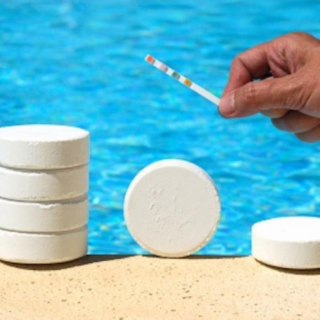 Как сделать химию для бассейна